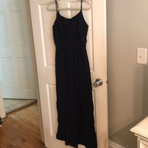 Gap navy blue maxi dress